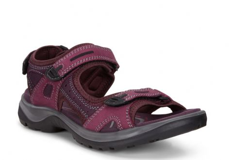 ECCO Ladies Shoes Offroad Aubergine Mauve